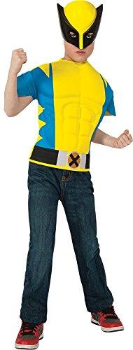 Xmen Wolverine Boys Muscle Costume Shirt