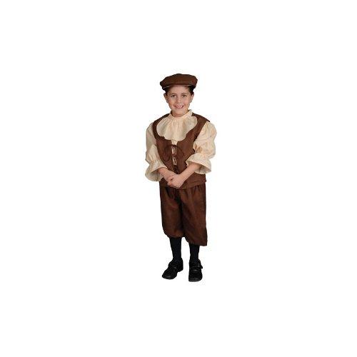 Colonial Boy Child Halloween Costume Size 8-10 Medium