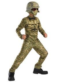 Desert Commando Child Halloween Costume Size 7-8 Medium