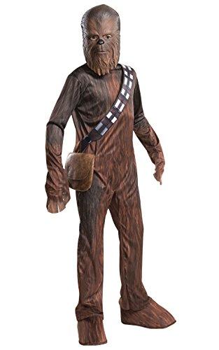 Disney Exclusive Star Wars Chewbacca Boys Costume Bonus Medallion Medium 8-10