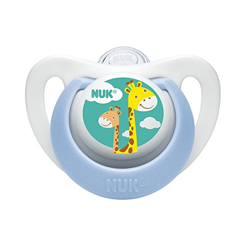 2 Reborn Baby Doll Pacifiers NUK Newborn BOY Colors Designs May Vary With Reusable Putty Non Magnetic AGES 8 YRS