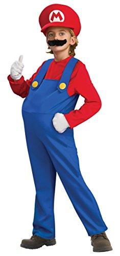 Deluxe Mario and Luigi Costume - Large