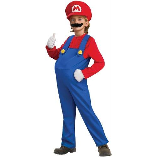 Deluxe Mario and Luigi Costume - Small