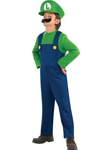 Halloween Resource Center Deluxe Mario and Luigi Costume - Small