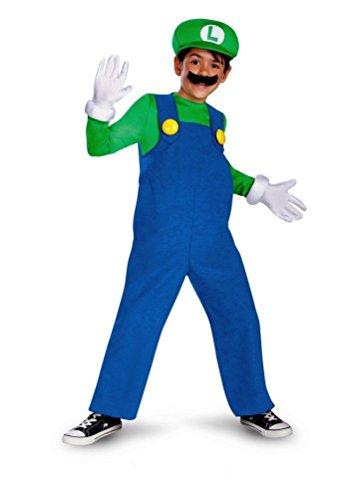 Mario and Luigi Costume - Small