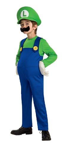 Super Mario Brothers Deluxe Luigi Costume Medium