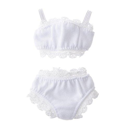 16 White Lace Underwear Suit for BJD Blythe Dolls Clothes Accessories