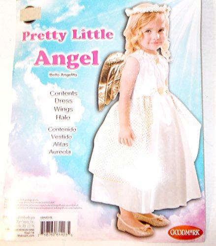 Pretty Little Angel Child Toddler Costume 2T NIP