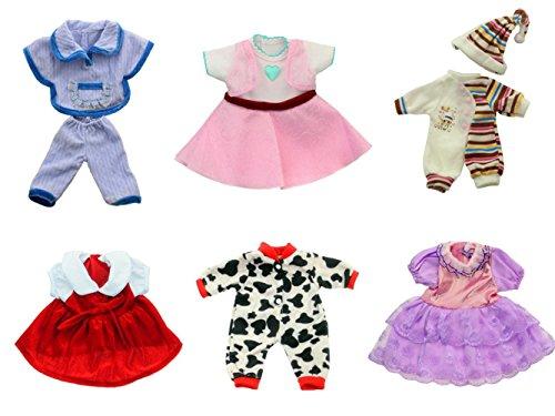Brynhildr 6 Pack 14-18 inch Doll Clothes