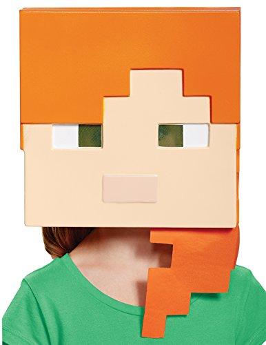 Alex Minecraft Child Mask