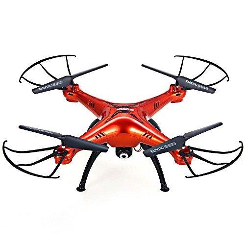 Syma X5SC - 1 Falcon 4CH 24GHz 6 Axis RC Quadcopter with HD Camera 360 Degree Eversionred