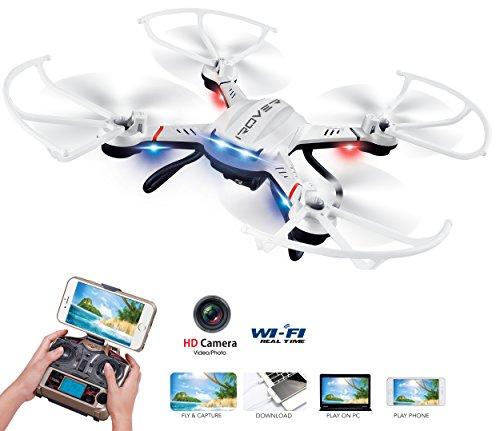 iRover DR307 Wi-Fi Drone with HD Camera 360 Degree Rollover