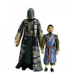 Doctor Who Classic Series Magnus Greel and Mr Sin From Talons of Weng-Chiang Action Figure Set Includes Collect and Build K1 Robot Part
