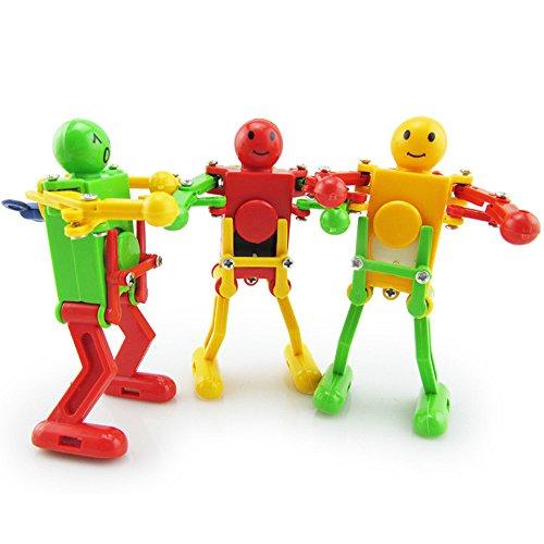 AckfulClockwork Wind Up Dancing Robot Toy for Baby Kids Developmental Gift Puzzle Toys