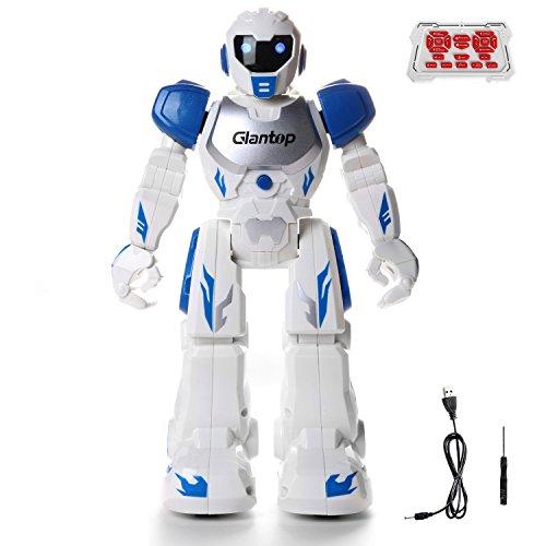 Glantop Remote Control RC Robots Interactive Walking Singing Dancing Smart Programmable Robotics for Kids Boys Girls - Best Gift