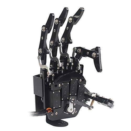Robot Hand Five Fingers Soley Movement Bionic Robot Mechanical Arm DIY(Right Hand)