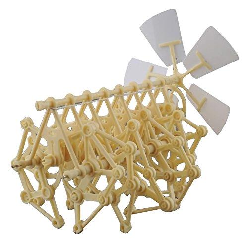 GogoForward Mini Wind Powered Walking Walker Strandbeest DIY Assembly Model Robot Toy