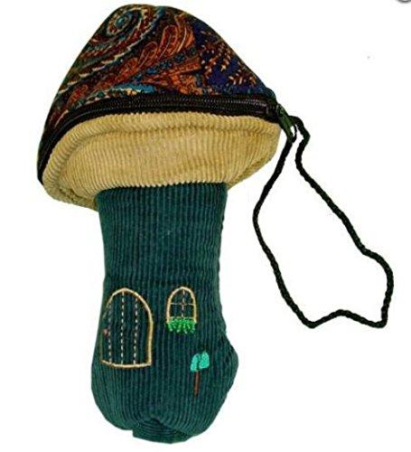 Fairy Hearts Mushroom PouchPurse Pretend Play Costume Accessory