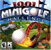 New Selectsoft Games 1001 Minigolf Challenge Golf Windows 98 Xp Vista Realistic 3D Play Wild Crazy