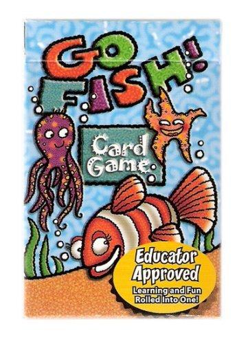 Go Fish Family Educational Card Game - Juego de Naipes Educacionales by According to Hoyle
