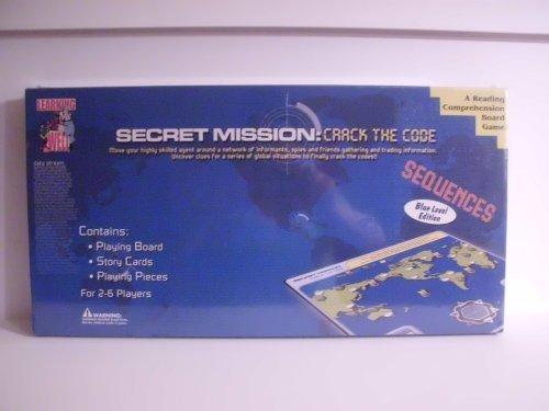 Secret Mission Crack the Code Reading Comprehension Board Game