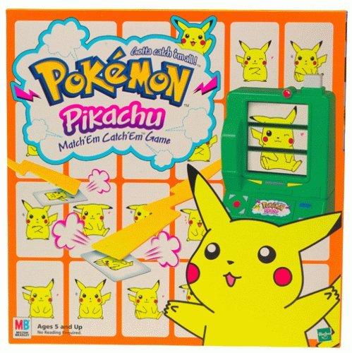 Pokemon Pikachu Matchem Catchem Game by Board Games - Children Family Games Milton