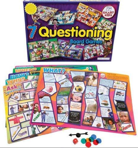 7 Questioning Skills Board Games by aquarius trading