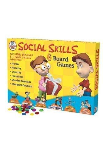 Didax DD-500063 Social Skills Board Games by Didax Educational Resources