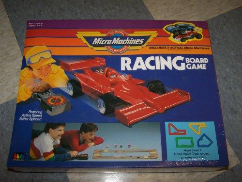Micro Machines Racing Board Game