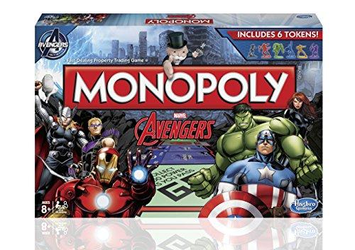 Hasbro Monopoly Avengers Board Game Multi