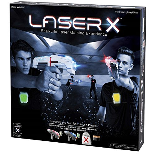 Laser X  2-Player Laser Tag  Real-Life Laser Gaming Experience