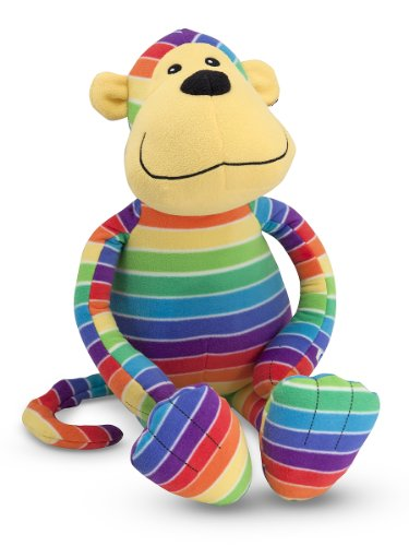 Melissa Doug Mack Monkey Stuffed Animal