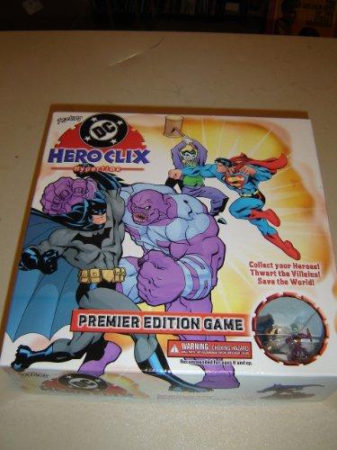 DC Hero Clix Super Hero Board Game