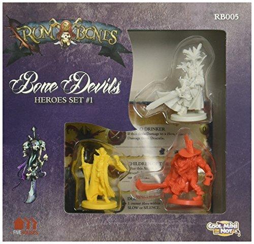Rum and Bones Bone Devils Hero Board Game by Cool Mini or Not