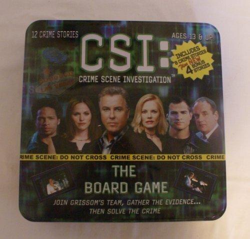 CSI Crime Scene Investigation The Board Game by Specialty Board Games