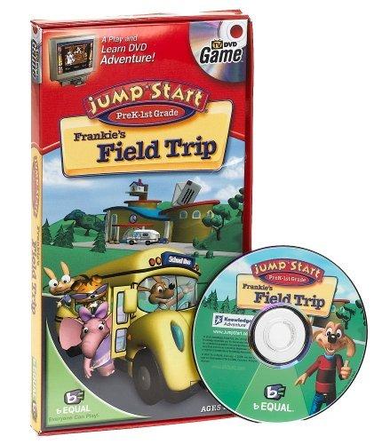 Jump Start Pre-K - 1st Grade DVD Game Frankies Field Trip by Specialty Board Games