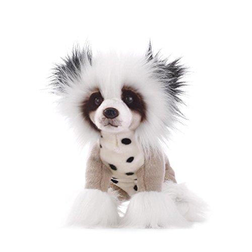 DEMDACO Chinese Crested Dog Plush Toy Large