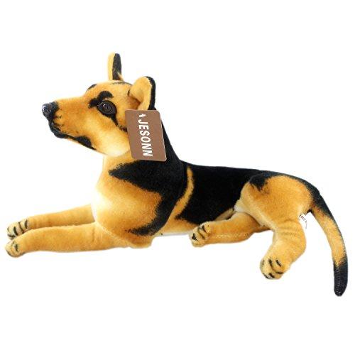 Jesonn Realistic Stuffed Animals Toys Shepherd Dog Plush153 or 39CM1PC