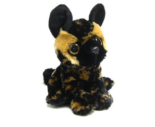 Wishpets 9 Big Eyes Wild Dog Plush Toy