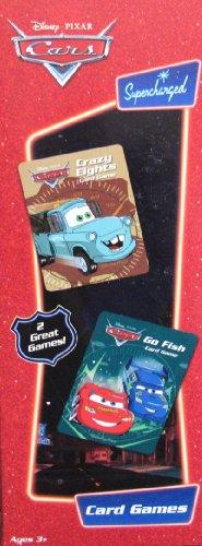 Disney Pixar CARS Card Games - Go Fish Crazy Eights 2 Pack Card Games