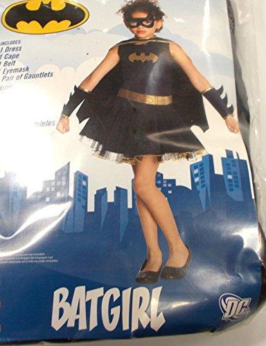 Batgirl Bat Girl Dress Costume NIP M 8-10