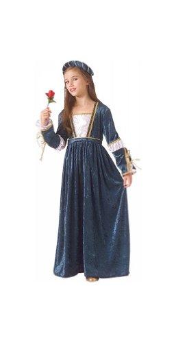 Juliet Dress Girls Costume Deluxe - Small 4-6