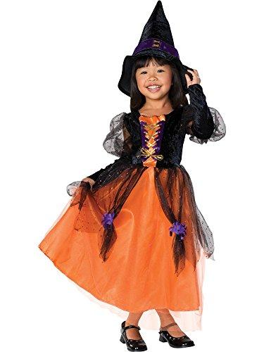 Pretty Witch Girls Dress Costume