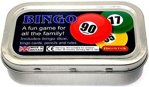 Pocket  Travel Bingo game by Pocket dice games