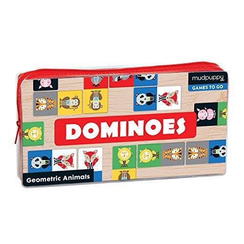 Geometric Animals Dominoes Board Game