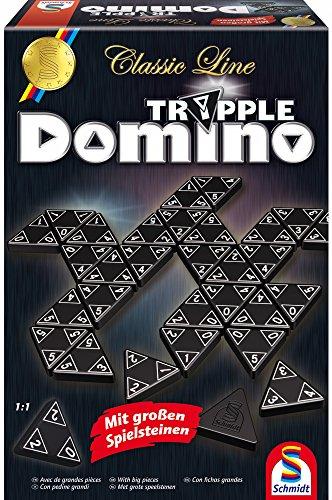 Triple-Domino Board Game