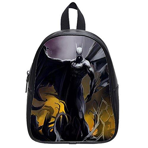 Comic Hero Batman Printed Outdoor Casual Backpack Students School Bag