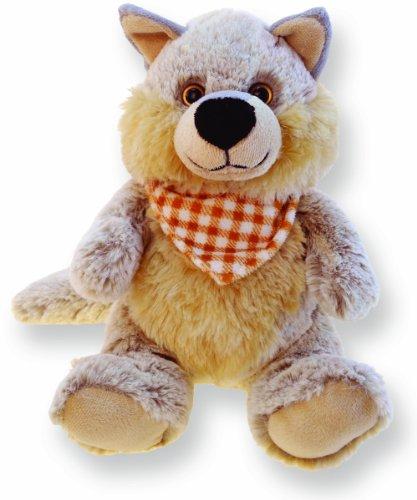 Sitting Wolf Super Soft Plush Toy Stuffed Animal