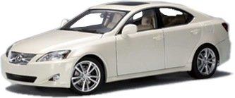 2006 Lexus IS 350 White 118 AutoArt Diecast Model Car
