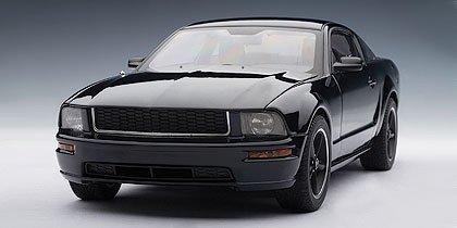 2008 Ford Mustang GT Bullitt Black 118 Autoart Diecast by AUTOart